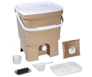 Skaza Exceeding Expectations Bokashi Organko (16 L) mit 1 kg EM Ferment beige