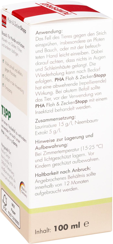 PHA Floh & ZeckenStopp Pumpspray für Hunde