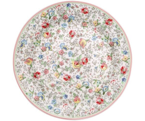 Greengate Vivianne Teller white (20,5 cm)