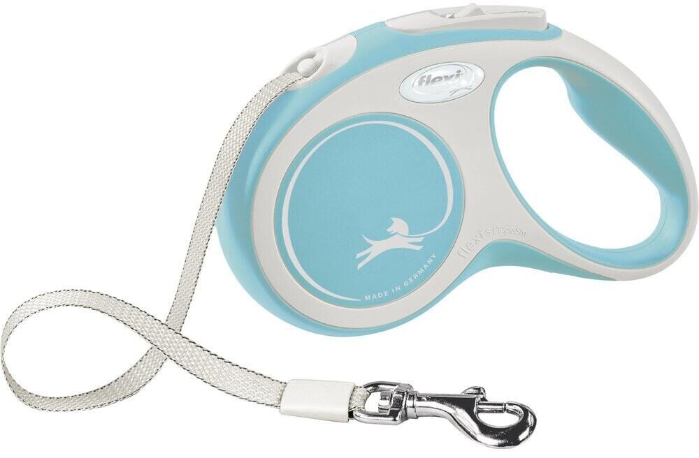 Flexi New Comfort Tape S 5m Light Blue/White