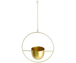 HTI-Living Pflanzentopf zum hängen gold (69196G)