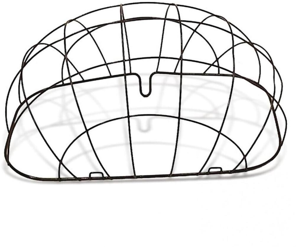 Basil Pluto Space Frame Korbgitter, schwarz