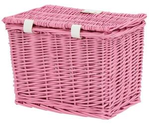 Tom.bv AMIGO Fahrradkorb mit Deckel 9 Liter rosa