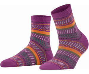 Falke Socken Loom Tape (46396) dark magenta