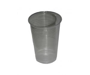 Fa.ars 100 Plastikbecher Einwegbecher Trinkbecher klar 0,2 l