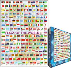 Eurographics Puzzles Flaggen der Welt