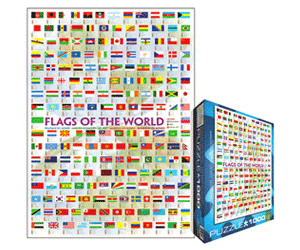 Image of Eurographics Puzzles Flags of The World (1000 Piece)