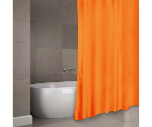 MSV France Anti-Schimmel-Duschvorhang orange