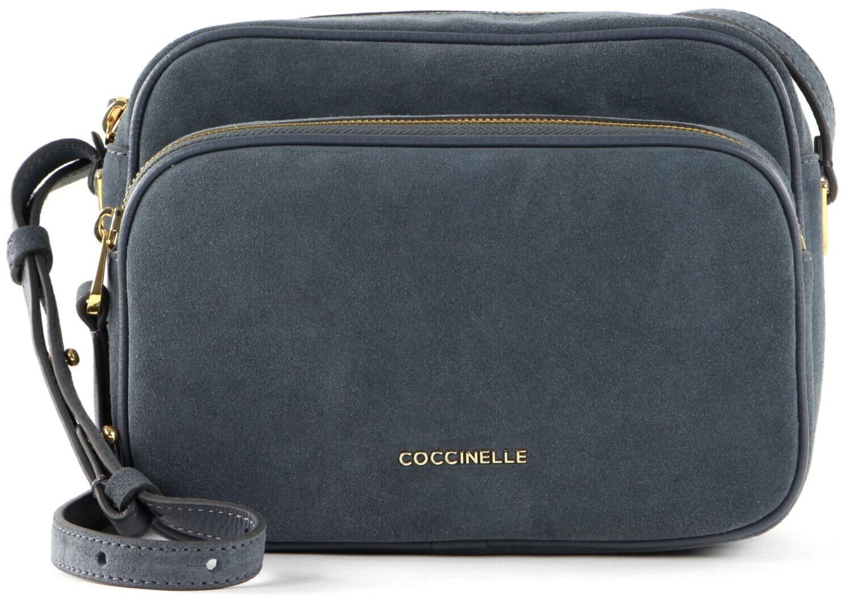 Coccinelle Lea Suede Crossbody Bag