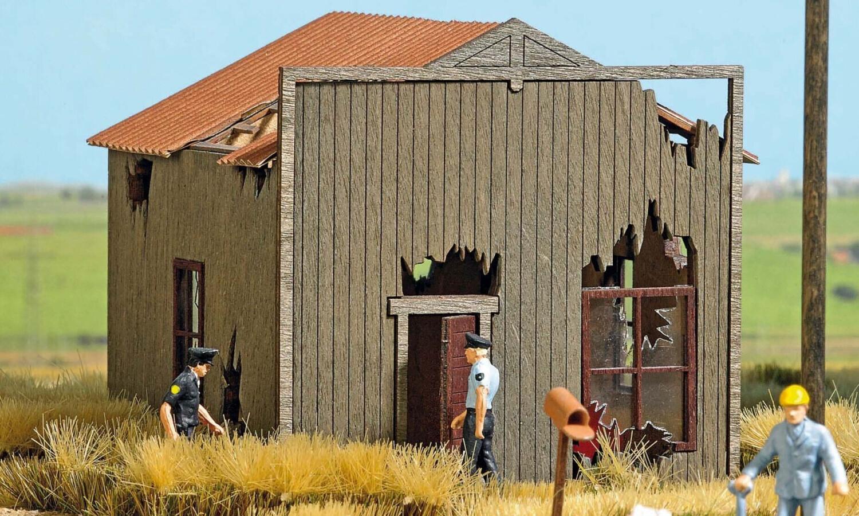 Busch Verfallenes Haus (9718)