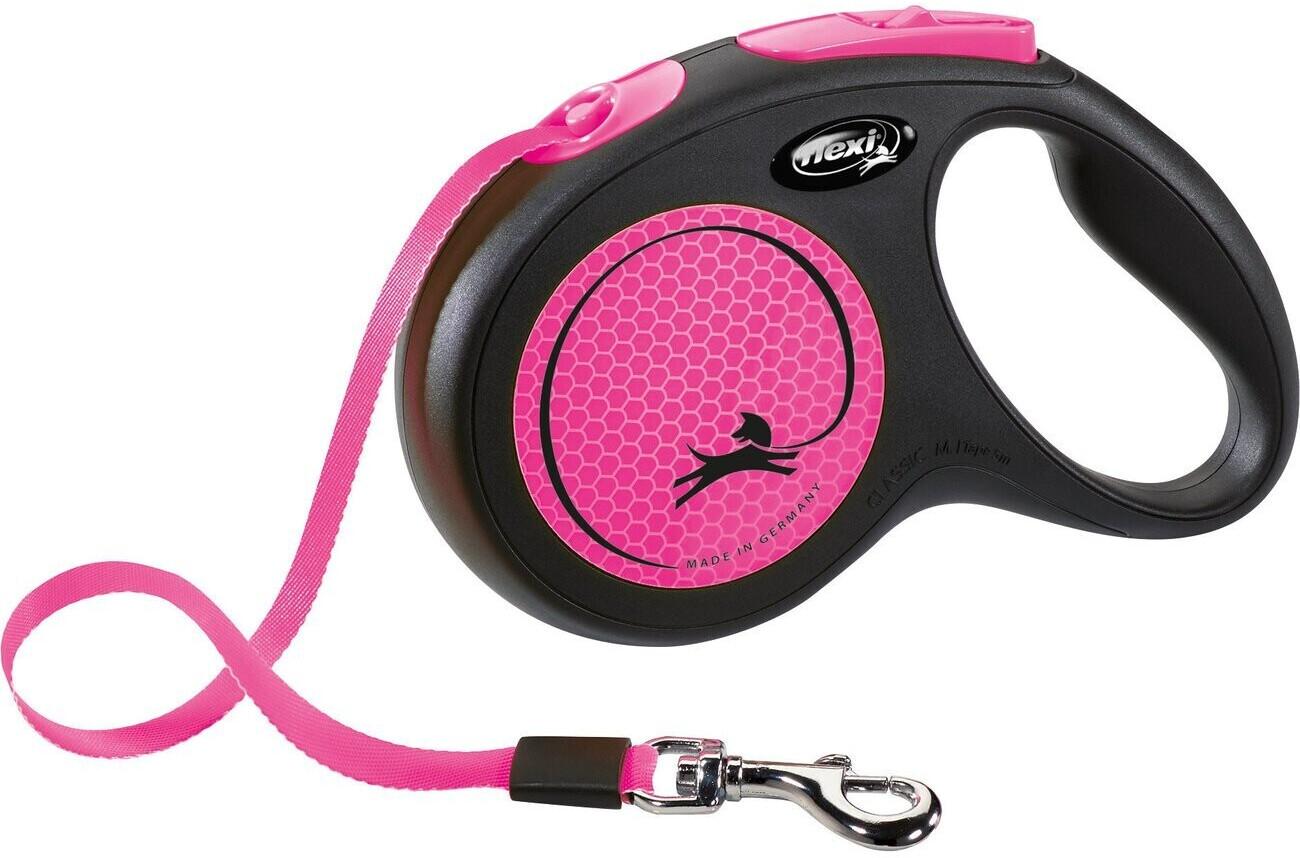 Flexi New Neon Gurt S 5m pink