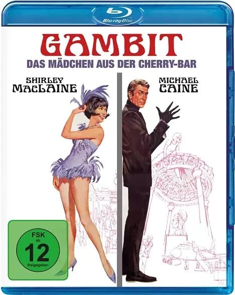 Gambit - Das Mädchen aus der Cherry-Bar [Blu-ray]