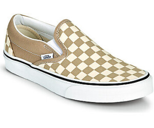 Vans Slip-On Checkerboard beige/white au meilleur prix sur idealo.fr