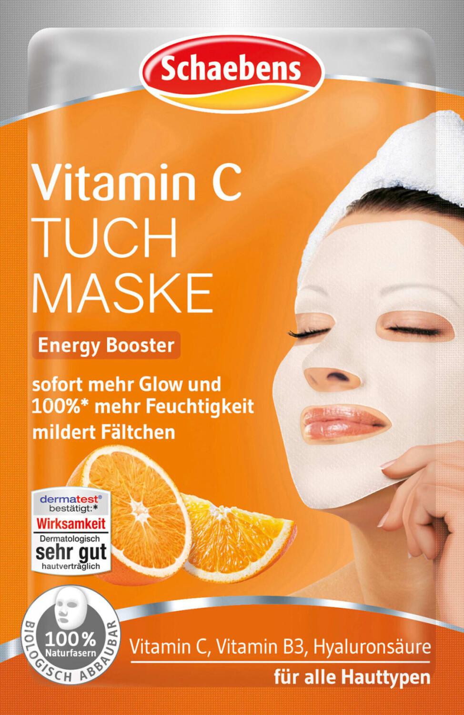 Schaebens Tuchmaske Vitamin C