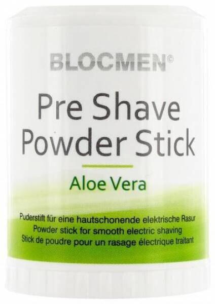 BlocMen Aloe Vera Pre Shave Powder Stick (60g)