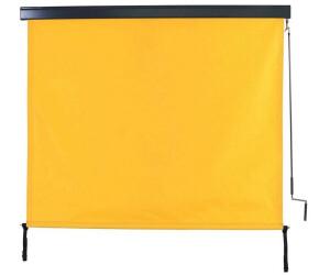 Mendler Vertikalmarkise 250x180cm gelb (72733)
