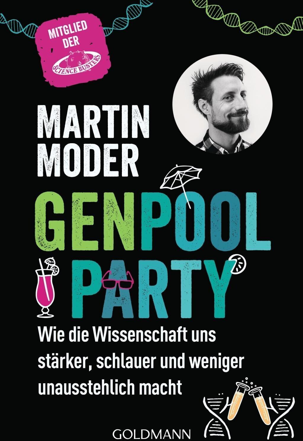 Genpoolparty (Martin Moder) [Taschenbuch]