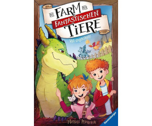 Die Farm der fantastischen Tiere, Band 1: Voll angekokelt! (Michael Peinkofer) [Gebundene Ausgabe]