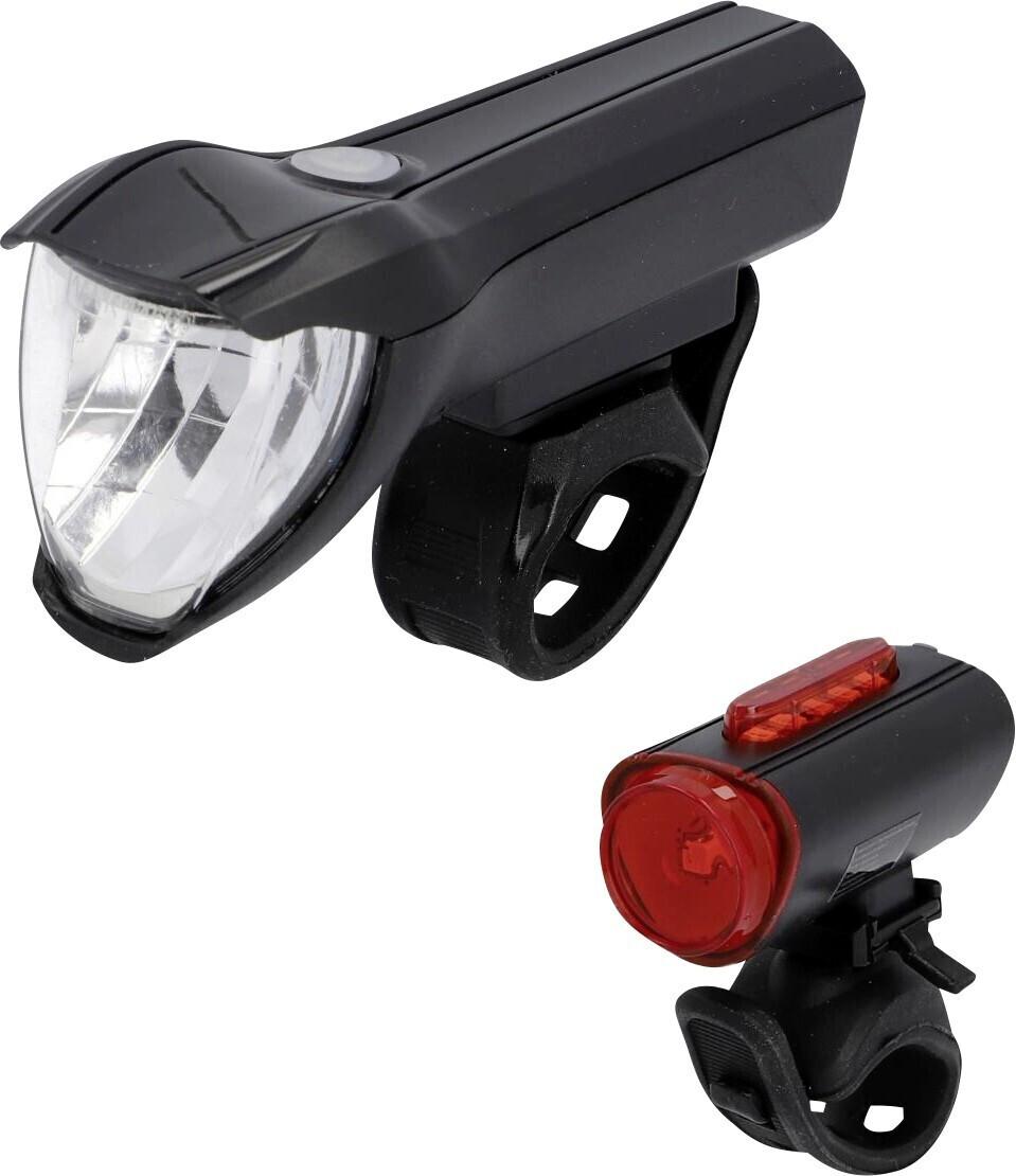 Fischer Twin Akku-Leuchten-Set mit 360 Grad Rückleuchte (50 Lux)
