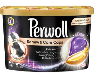 Perwoll Renew & Care Caps All-In-1 Black (18 WL)