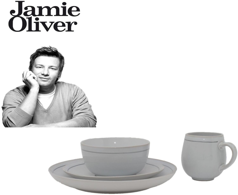 Jamie Oliver Geschirrset Steinzeug sandfarben (16-tlg.)
