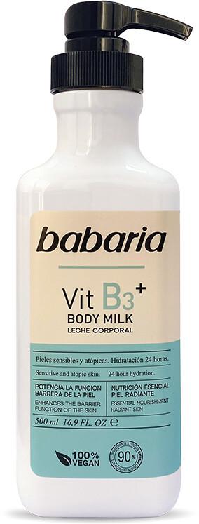 Babaria Body Milk Vit B3+