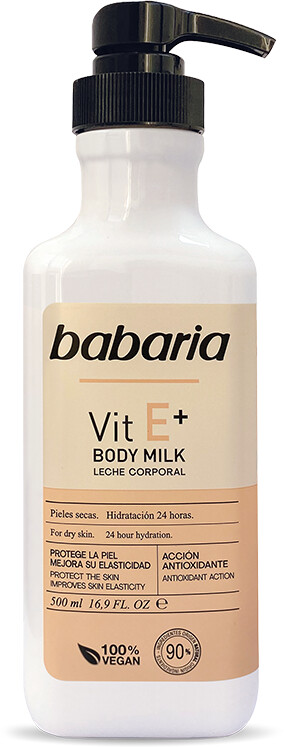 Babaria Body Milk Vit E+