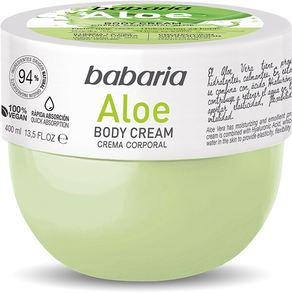 Babaria Body Cream Aloe (400 ml)
