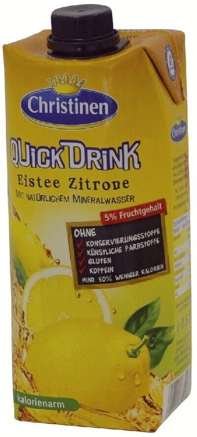 Christinen Eistee Zitrone 0,5 l