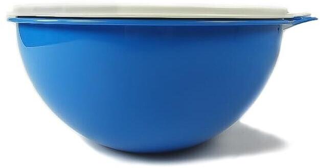 Tupperware Rührschüssel Maximilian 7,5 L blau