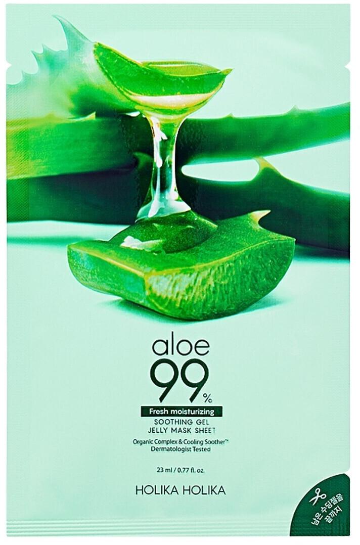 Holika Holika Aloe 99% Soothing Gel Jelly Mask Sheet (23ml)