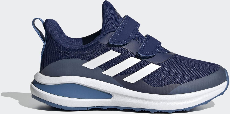 Image of Adidas FortaRun Double Strap Victory Blue/Cloud White/Focus Blue KinderOfferta a tempo limitato - Affrettati