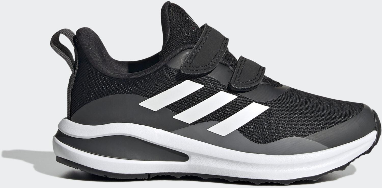 Image of Adidas FortaRun Double Strap Kids core black/cloud white/grey six (H04166)Offerta a tempo limitato - Affrettati