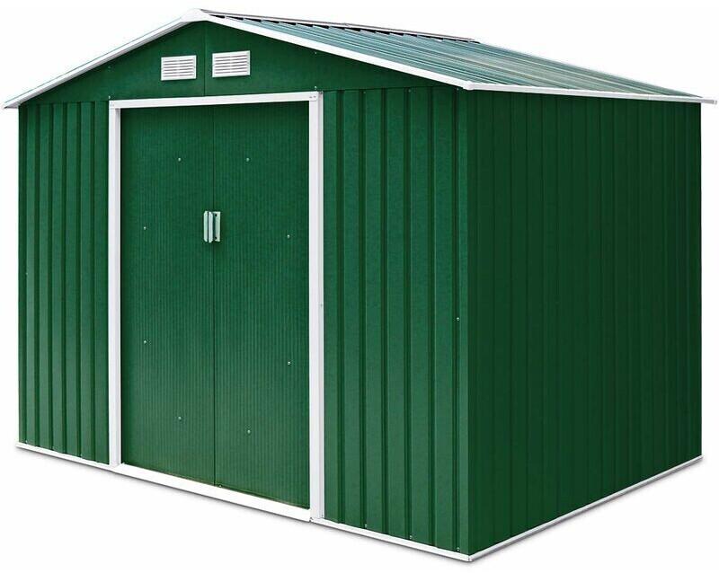 Go Plus Gerätehaus 203 x 117 cm grün