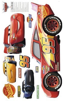Komar Wandtattoo Cars XXL 127x200 cm