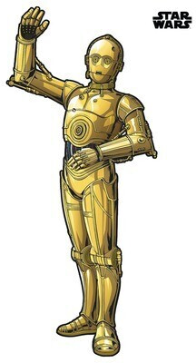 Komar Wandtattoo Star Wars XXL C-3PO 127x200 cm
