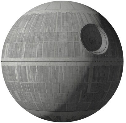 Komar Wandtattoo Star Wars XXL Death Star 127x127 cm