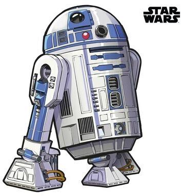 Komar Wandtattoo Star Wars XXL R2D2 127x120 cm