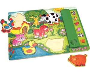 Bino Wooden Puzzle - Animal Voices