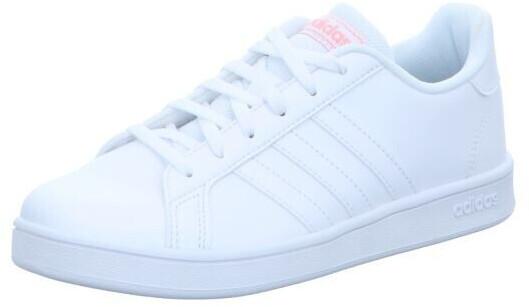 Image of Adidas Grand Court Kids white/white/super popOfferta a tempo limitato - Affrettati
