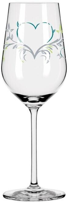 Ritzenhoff Weißweinglas Herzkristall 364 ml Kristall, Kristalloptik Grau