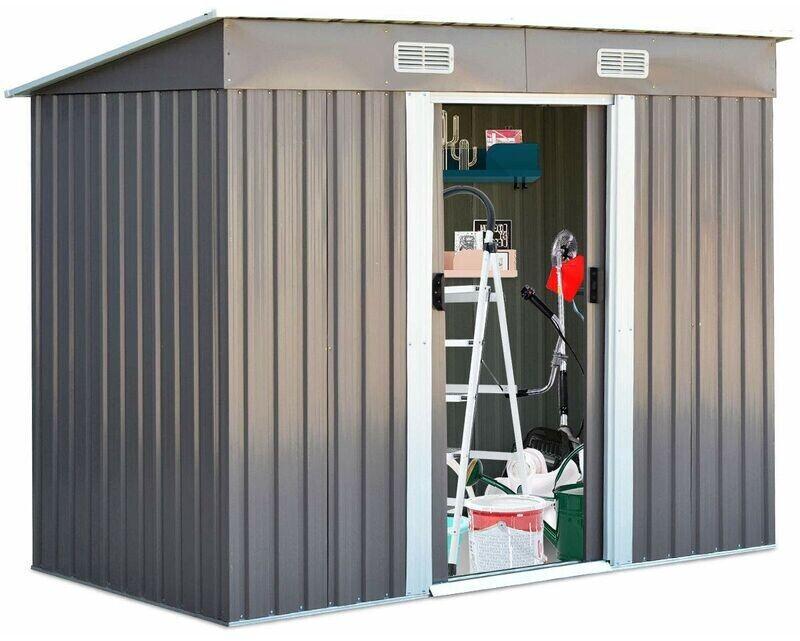 Go Plus Gerätehaus 238 x 131 cm