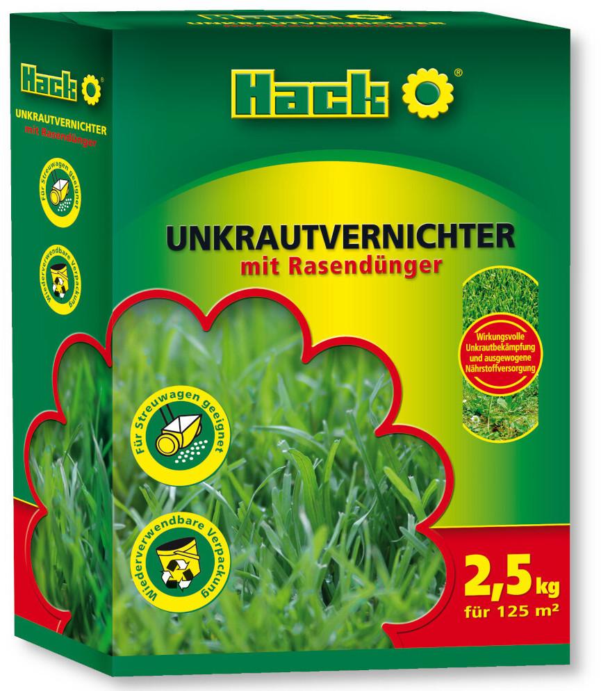 Hack Unkrautvernichter mit Rasendünger 2,5 kg