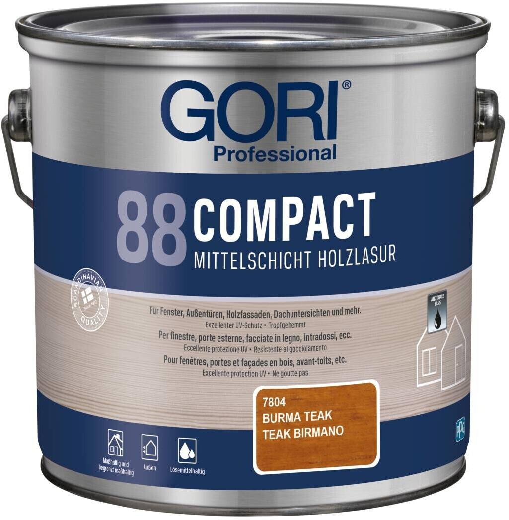 Gori 88 Compact Mittelschicht-Holzlasur burma teak 2,5 l
