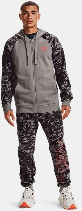 Under Armour UA Rival Fleece Camo Script Shirt Zip (1366310)