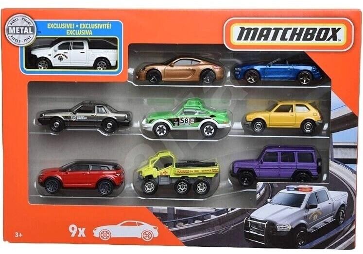 Matchbox Matchbox  9er-Pack