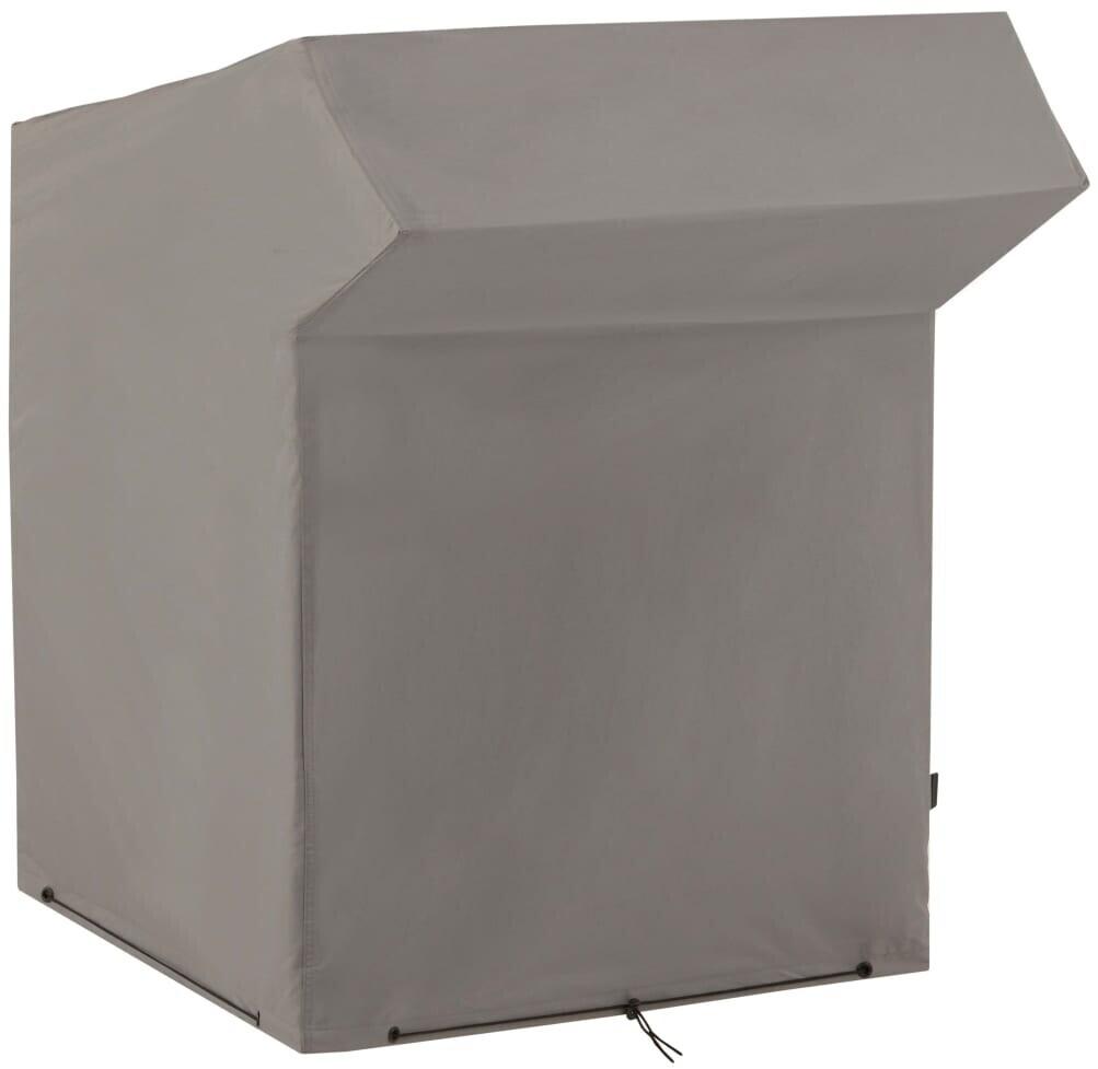 Madison Strandkorb-Abdeckung 128x105x165/140 cm Grau (COB4P025)