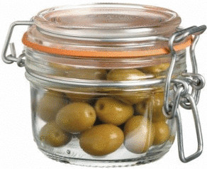 Image of Kitchen Craft Glass Terrine Preserving Jar