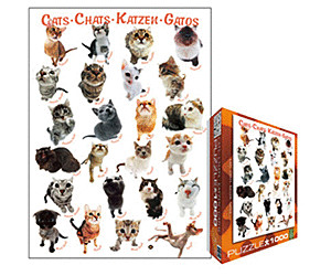 Image of Eurographics Puzzles Cats (1000 pieces)