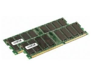 Crucial 2Go Kit DDR PC-2700 (CT2KIT12864Z335) CL2,5 au meilleur prix